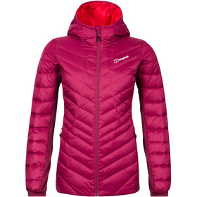 Berghaus Tephra Reflecterende Stretch Donsjas Dames, beet red